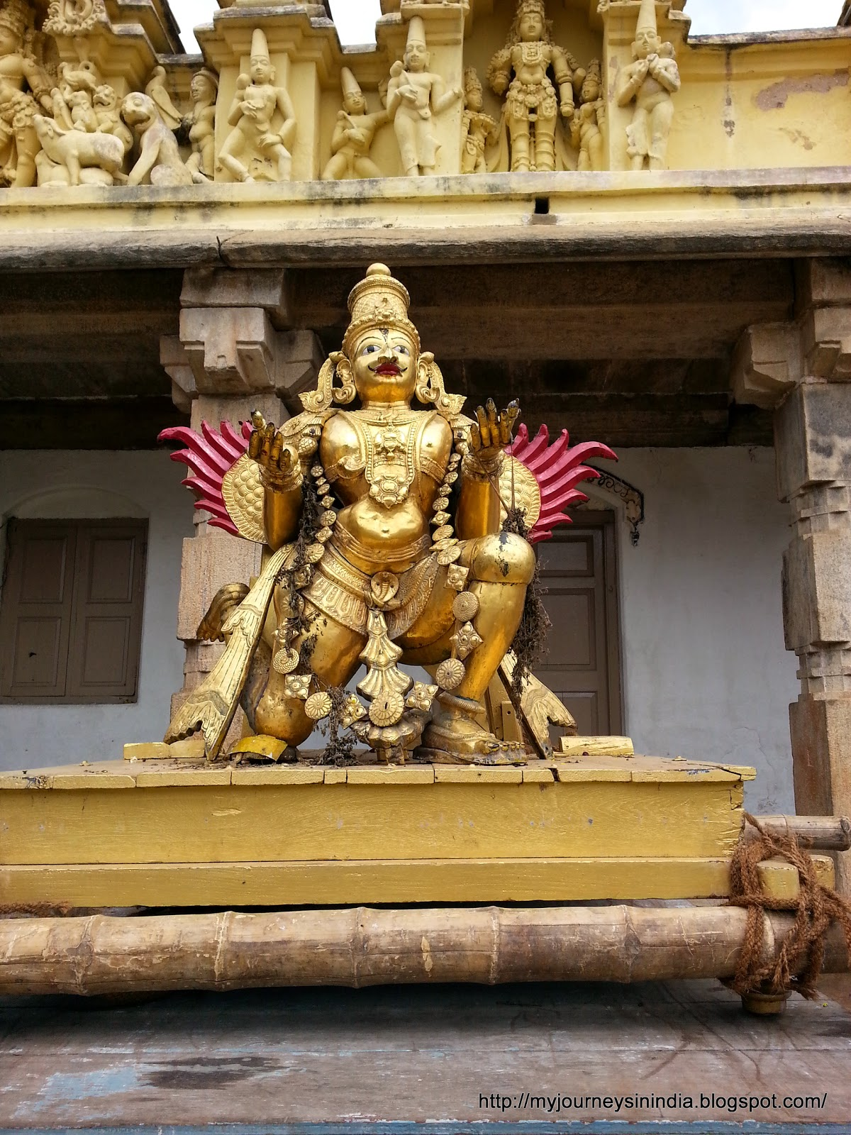 Garuda Vahana or Eagle Vahana For Lord Vishnu