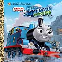 Thomas and friends Blue Mountain Mystery book with hardcover for children 24 pages
