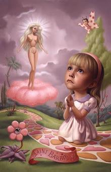 Cuando sea grande quiero ser como Barbie.