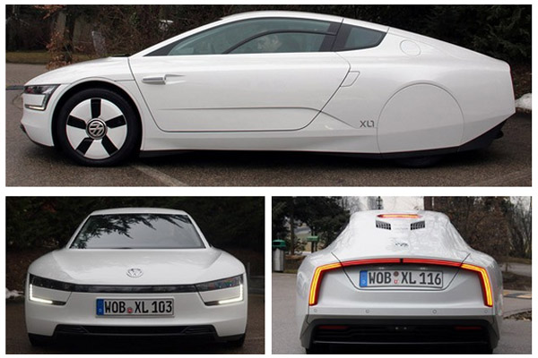 Volkswagen XL1 views