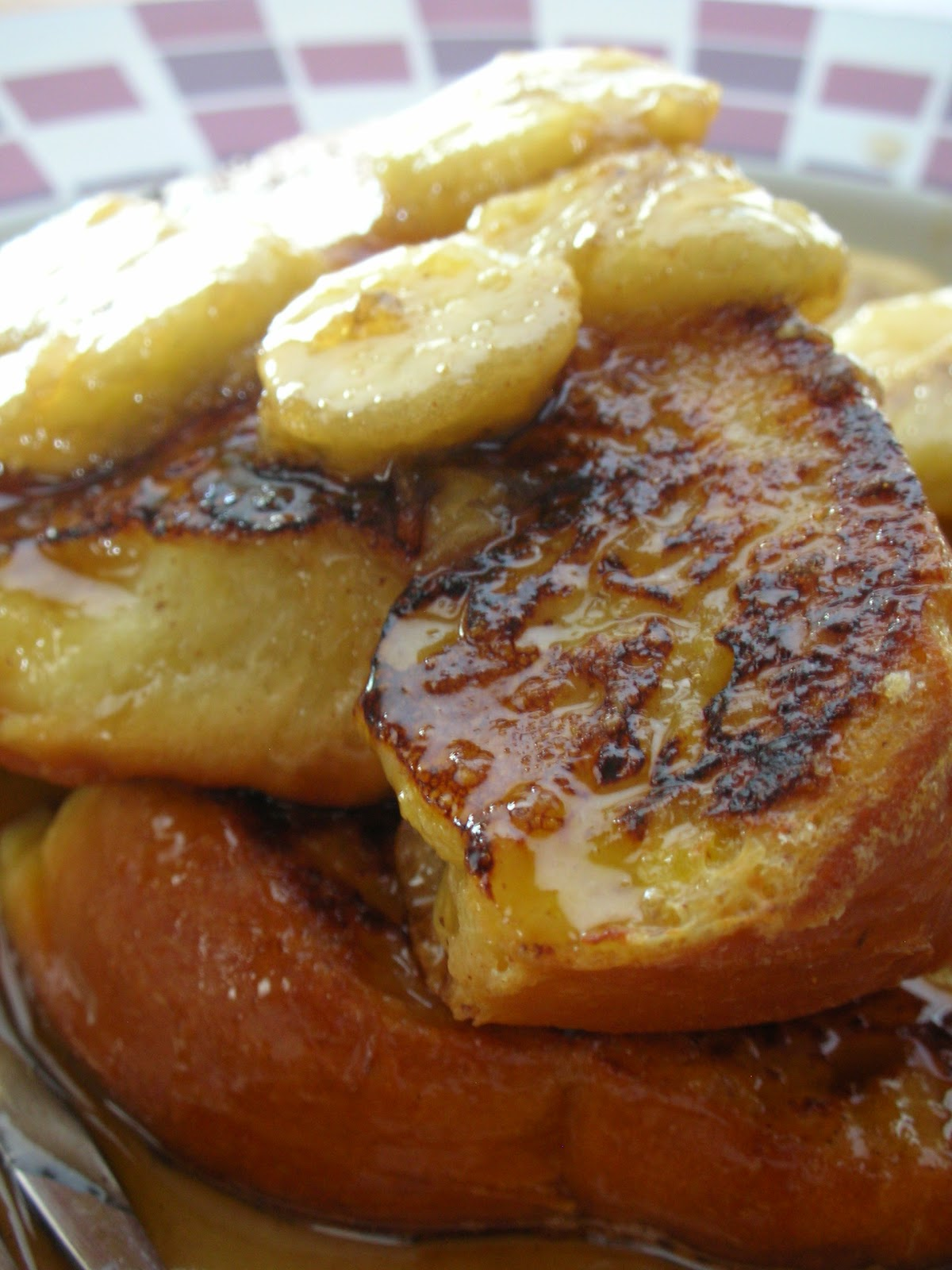 Basil: Bananas Foster French Toast