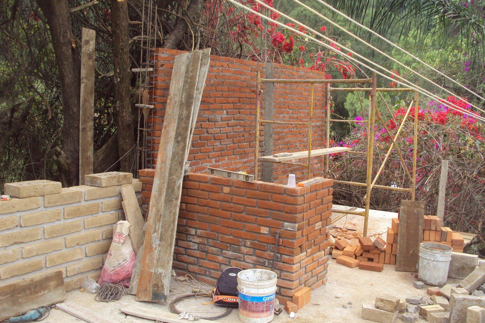 Construccion De Baño En Planta Alta:econstructivismo: construccion de muros planta alta_Loft Tepoztlan