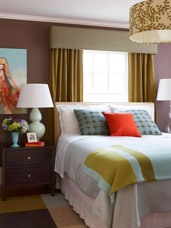 Modern Furniture: 2014 Smart Bedroom Window Treatments Ideas