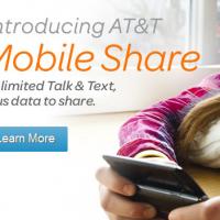 ATT Mobile Shared Data Plan