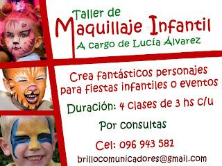 Taller de maquillaje infantil.Inscripciones 2012
