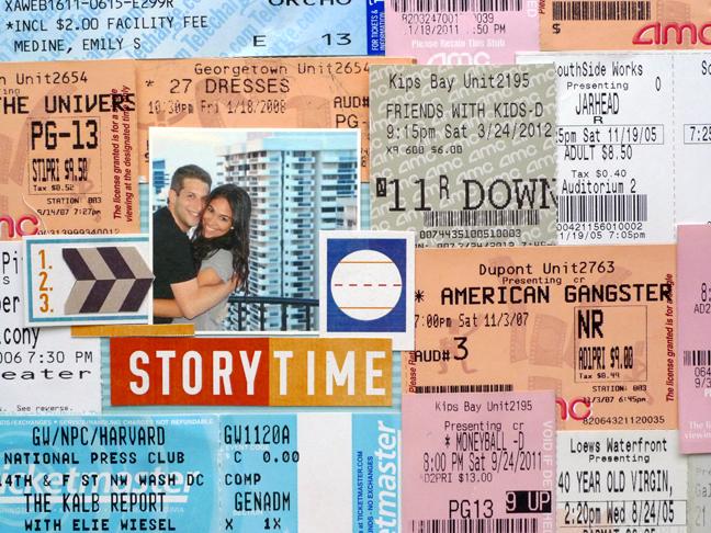 My Analog Life Scrapbook Basics Movie Ticket And Broadway Show