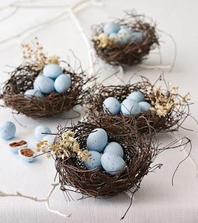 ovinhos de camendoim, ninhos, páscoa