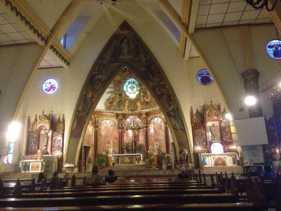 ARCHDIOCESAN SHRINE OF THE HOLY SPIRIT (Espiritu Santo Parish Church), Tayuman, Santa Cruz, Manila, Philippines