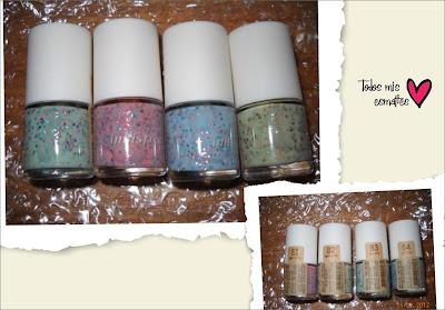 innisfree eco nail color yogur set