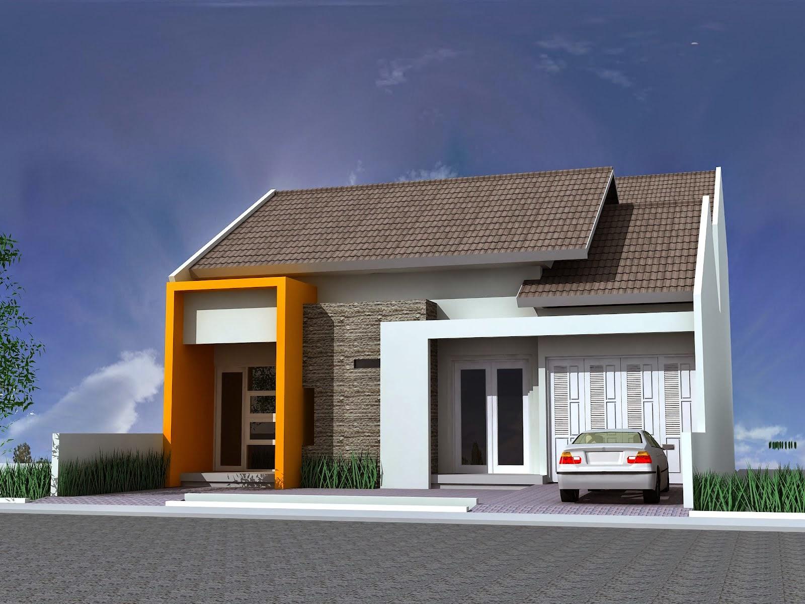 Rumah Idaman 1 Lantai Gaya Minimalis Modern