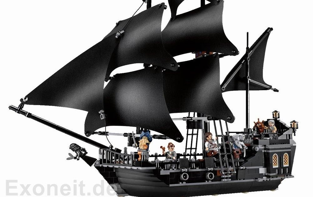 The Lego Chronicler: Perfecting 4184 The Black Pearl