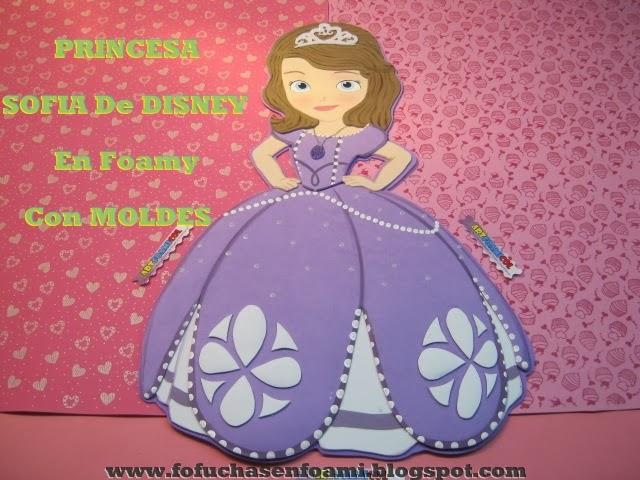 Moldes De Princesa Sofia