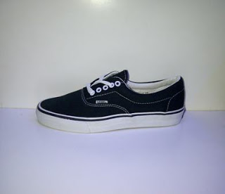Sepatu Vans Era Import hitam murah