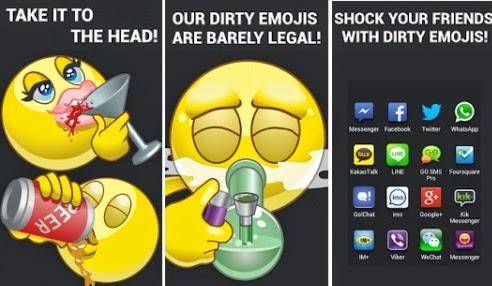 social dirty emojis android