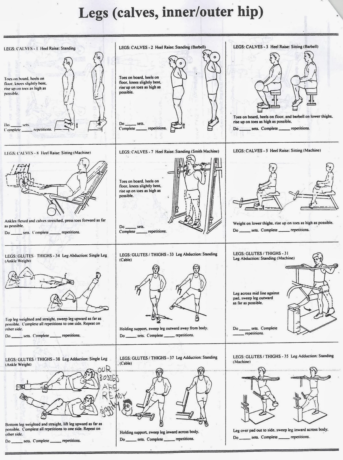 Legs And Back Workout Photo Album The Fashions Of Paradise – P90x Back and Biceps Worksheet