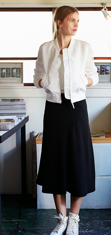 Uniqlo Midi Skirt