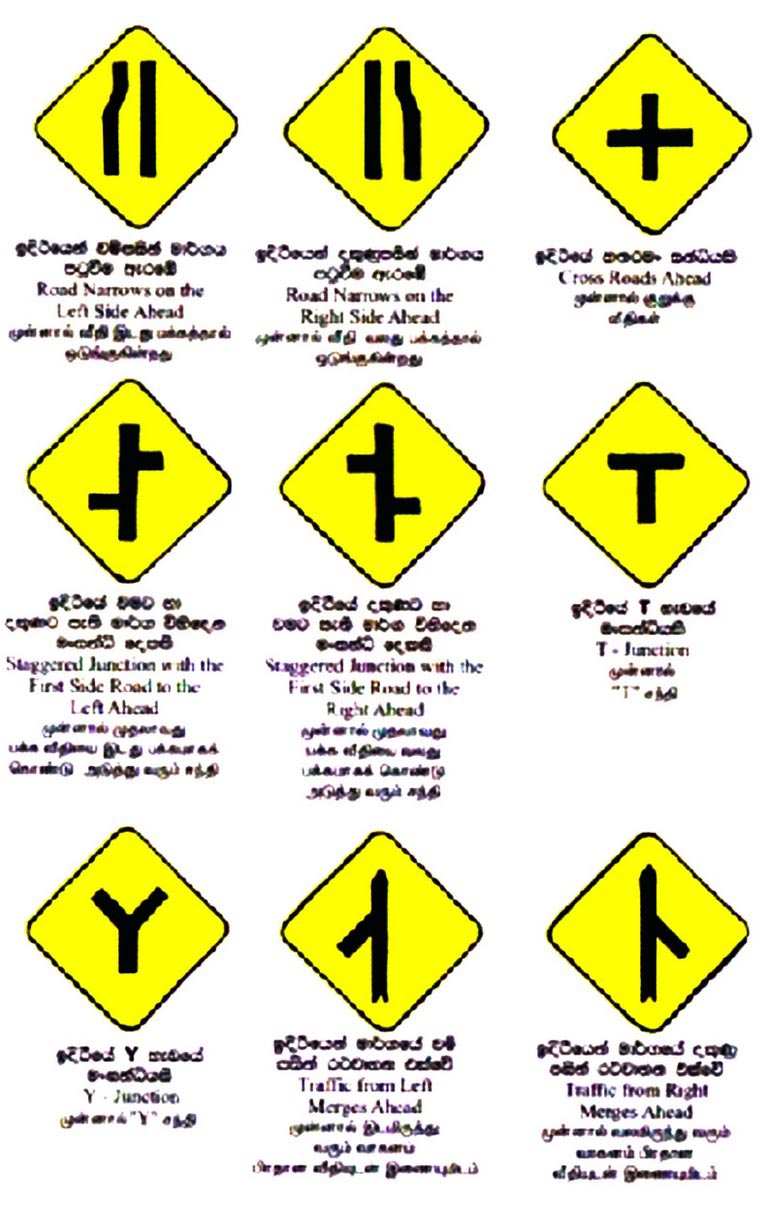 Road Warning Signs And Their Meanings The gallery for -->...