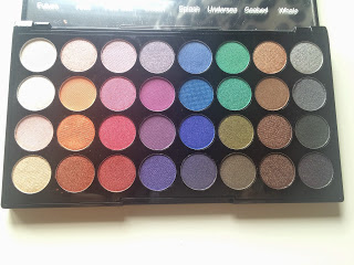 Makeup revolution Mermaids forever palette swatches, review and demo