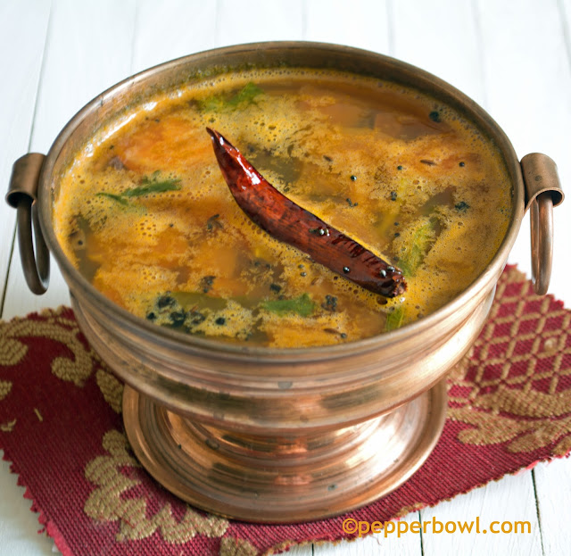 Pineapple-Rasam-charu-Indian-Soup-recipe