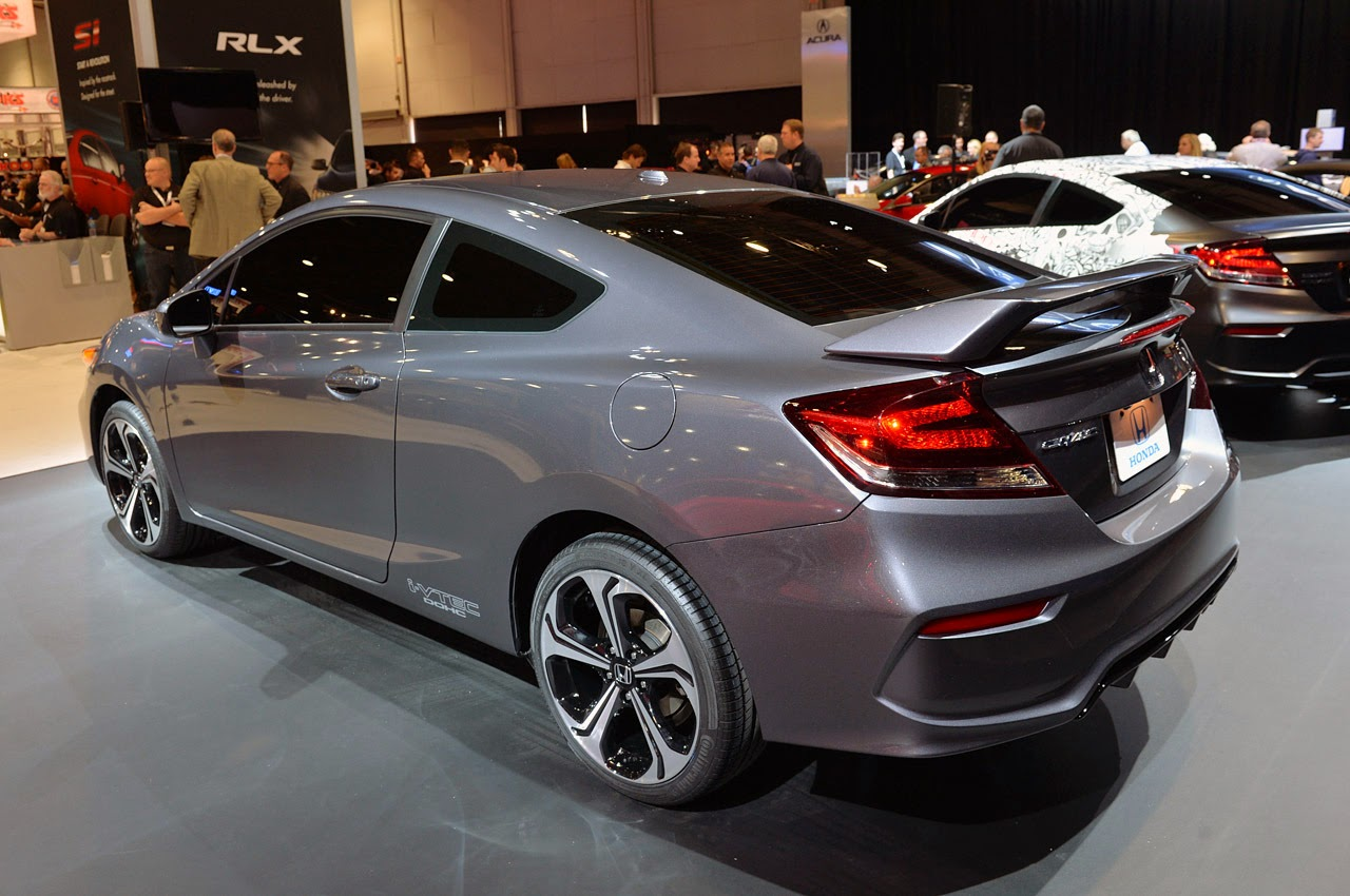 Automotiveblogz: 2014 Honda Civic Si Coupe: SEMA 2013 Photos
