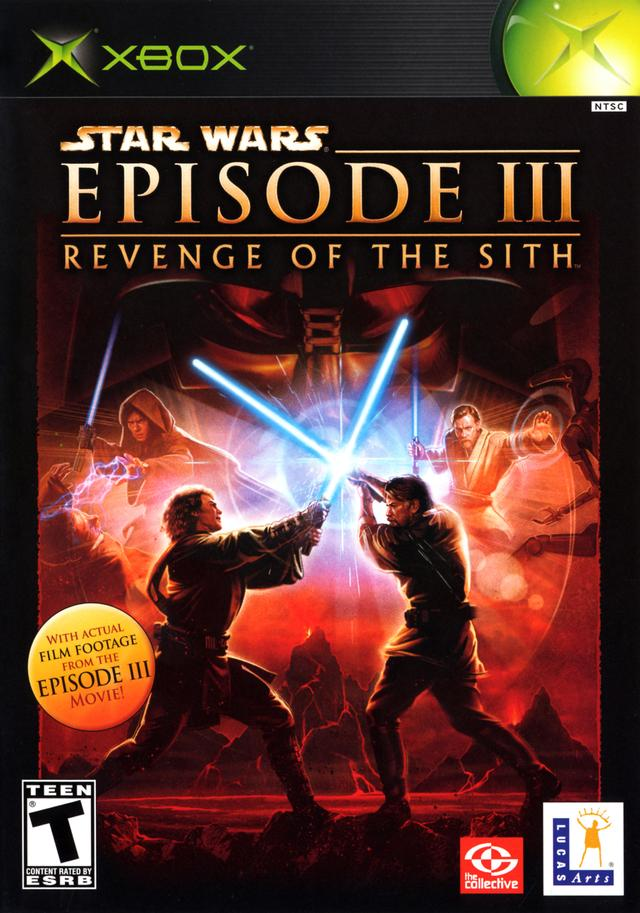 Star wars episode iii 3a revenge of the sith xbox boxart