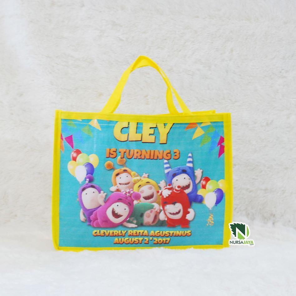 Tas plastik ulang tahun anak 786b617f19