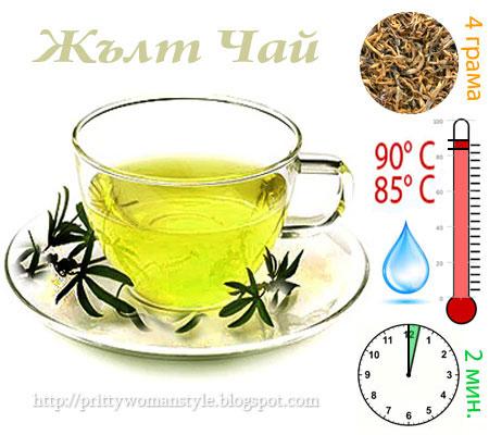 Как да приготвим жълт чай и полезни свойства на жълтия чай