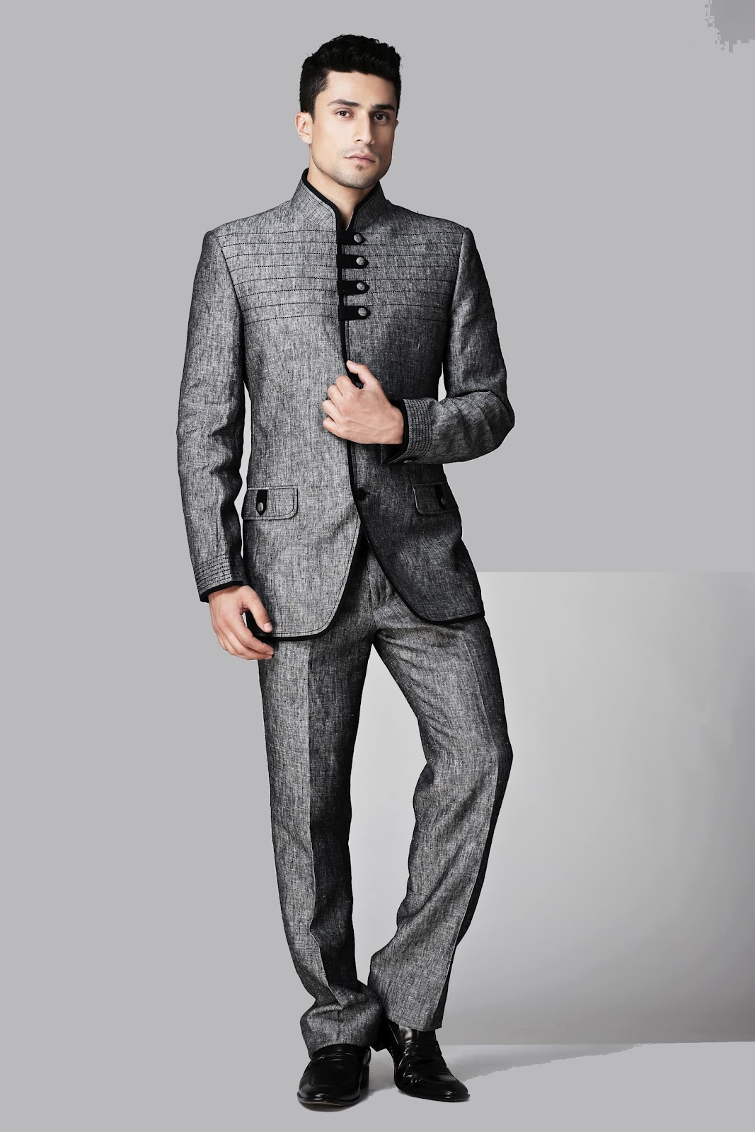 Modern 3 Piece Suits for Men | Three Piece Suit | Indian Office ...