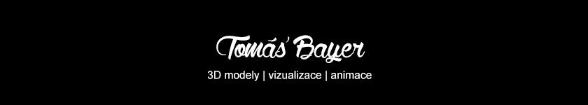 3D modely, vizualizace, animace - Tomáš Bayer