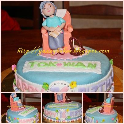 Yazzy Bakes Grandma Cake for Farha Sisters