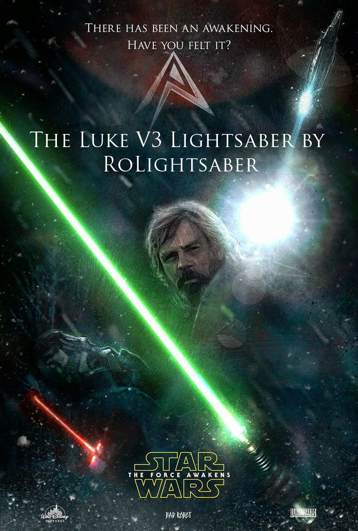 LUKE ROTJ V3 Lightsaber The Force Awakens