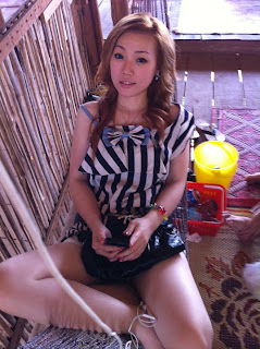 Mikie Jung Khmer Sexy girl with beautiful legs 2