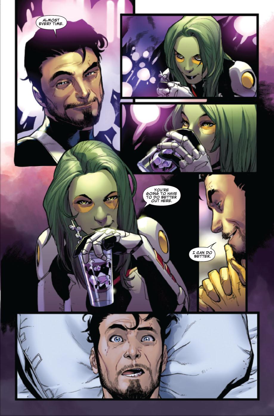 starlord and gamora relationship