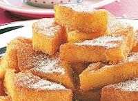 Polenta com Açúcar e Canela (vegana)