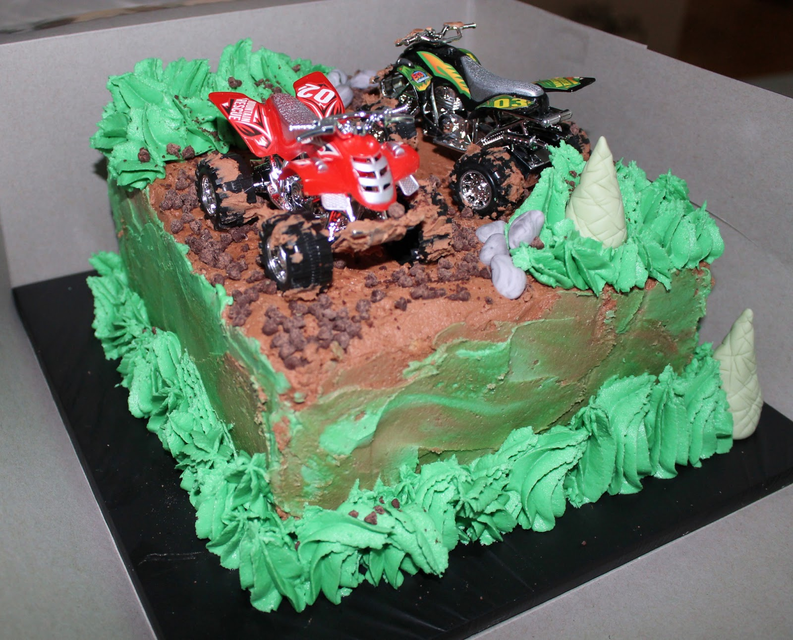 Creative Cakes By Lynn Atv Mudding Cake