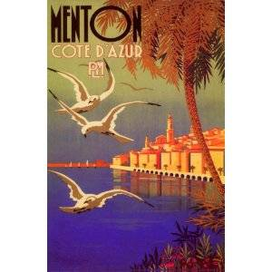 Poster Menton