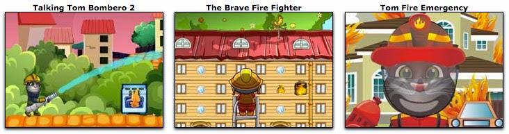 juegos de apagar fuegos y bomberos