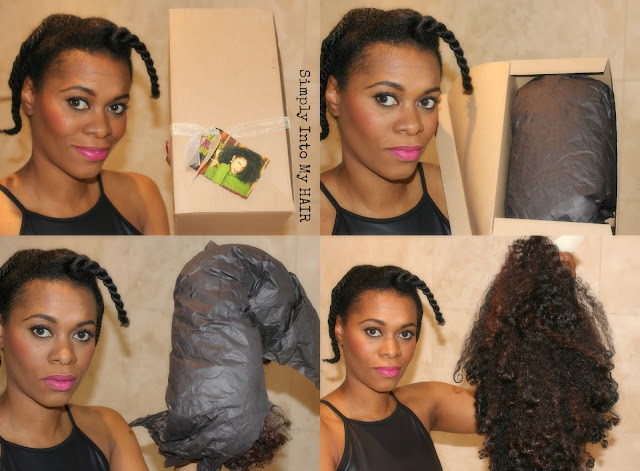 Fingercomber Kinky Kurl 4a, 4c natural hair HHJ Protective style