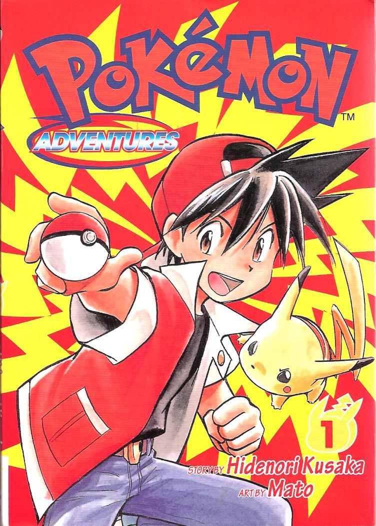 Pokemon Adventures Red Manga images