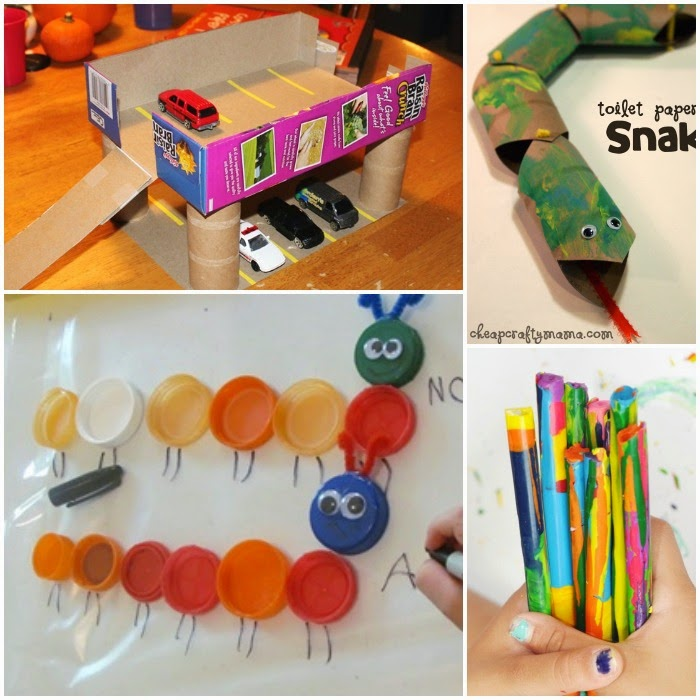 Totally Awesome Upcycle Crafts For Kids on 25 Earth Day Activities For Kids