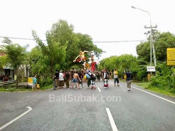 Ogoh-Ogoh Parade 2015 in Bali