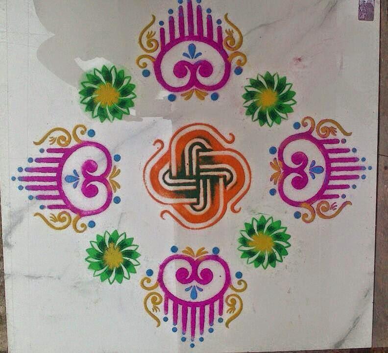 Yojna Kalaskar Kolam Designs 9