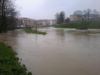 Inundación río Gobela