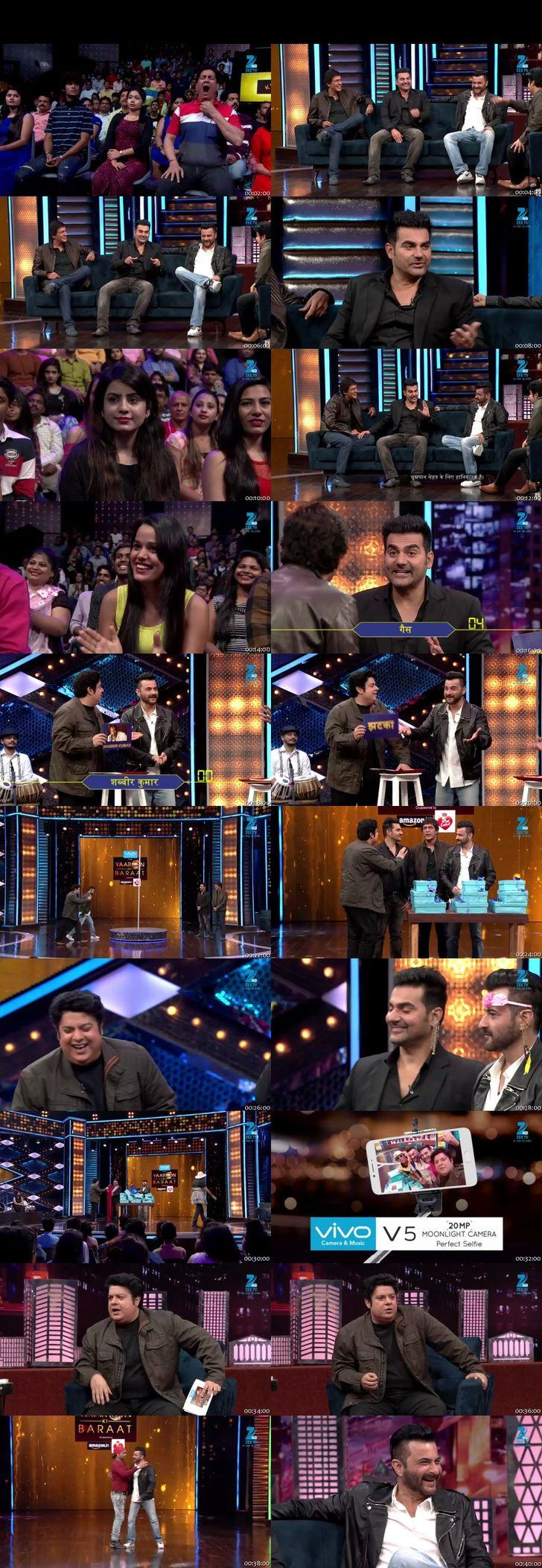 Screenshots Of Hindi Show Yaaron Ki Baraat 10th December 2016 Episode 19 300MB 480P HD