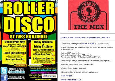 Rollers Roller Disco and The Mex St Ives