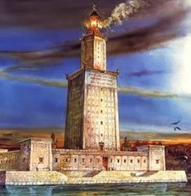 El faro de Alejandría (Egipto)