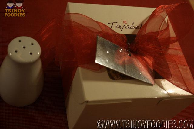 tayabel pistachio sans rival mini
