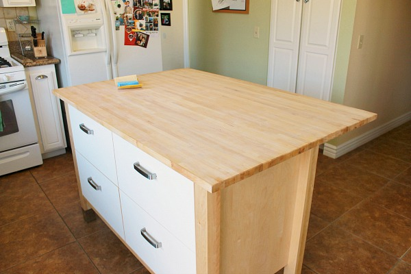 How to seal Ikea Varde butcher block #polyurethane #clever_nest