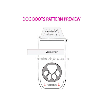 dog boots patterns
