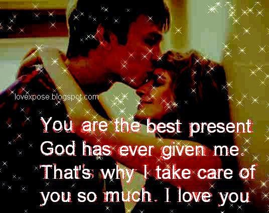 love take care message image